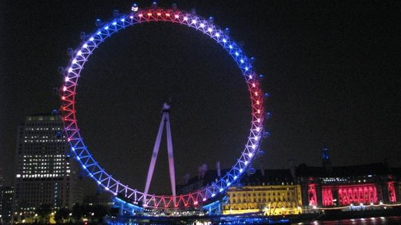 """Londono apžvalgos ratas """"Londono akis"""""""