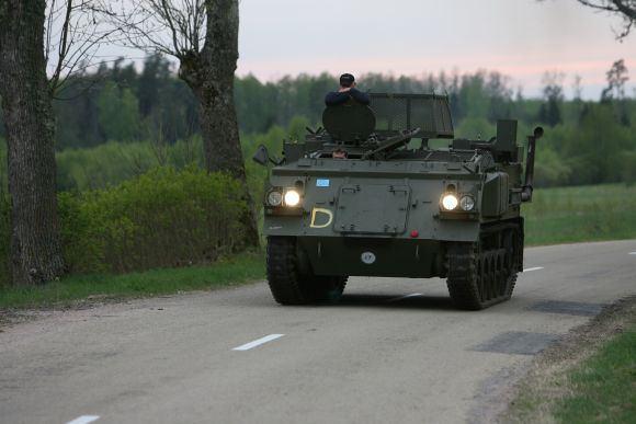 15min.lt nuotr./Jurbarko rajono keliuose ir aalikelėse galima sutikti tokią transporto priemonę.