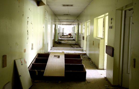 Misionierių ligoninė sostinės centre pavirto į landynę.