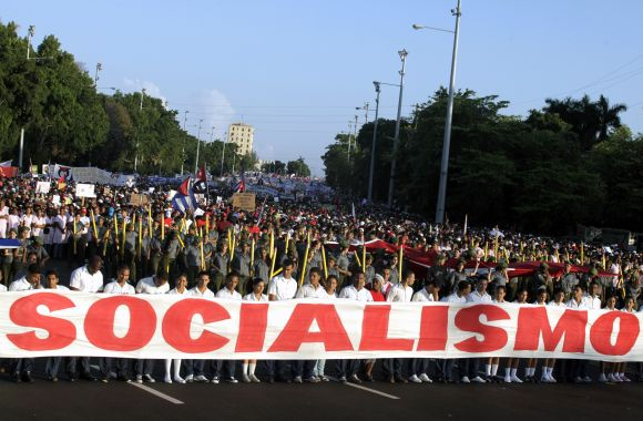 Gegužės 1-osios paradas Havanoje