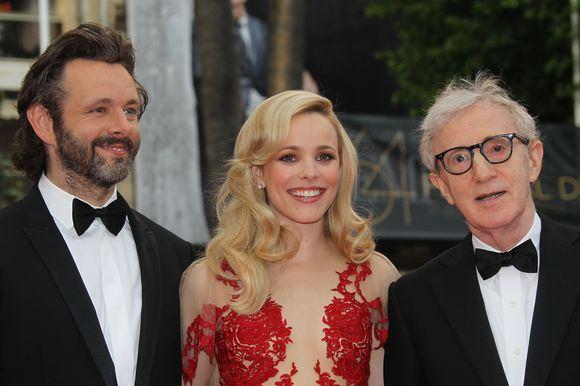 Michael Sheen, Rachel McAdams ir Woody Allenas