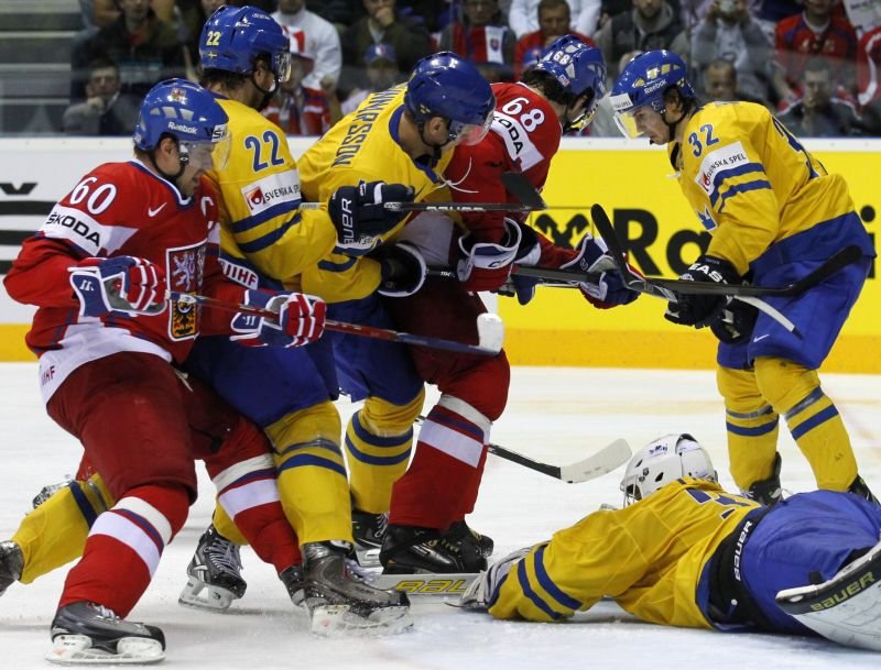 Švedija pusfinalyje nugalėjo Čekiją