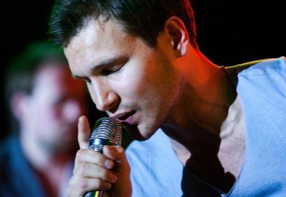 BFL/Tomo Lukaio nuotr./Vaidas Baumila gegužės 14-osios vakarą koncertavo sostinės muzikos klube Tamsta.