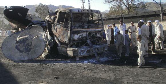 NATO benzinvežio liekanos Pakistane