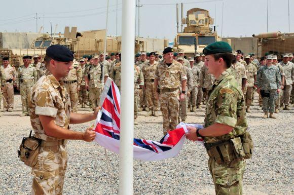 Britų kariai Irake