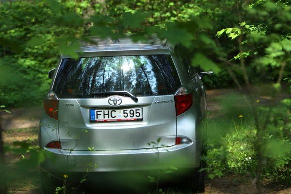 Andriaus Lauciaus nuotr./Toyota Verso-S
