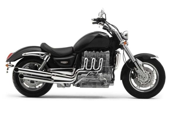 "Motociklas ""Triumph Rocket III"""