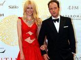 Scanpix nuotr./Claudia Schiffer ir Matthew Vaughnas
