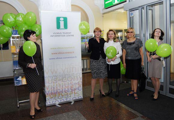 Aitidarytas Vilniaus miesto informacijos centras.