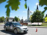 Organizatorių nuotr./Žurnalistų ralio Lietuva 2011 akimirka