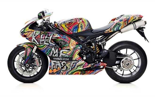 """Kolekcinė """"Ducati"""" motociklų serija """"Nužudyk mane greitai"""""""