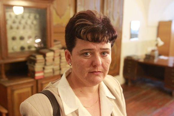 Kultūros paveldo depatamento direktorė Diana Varnaitė