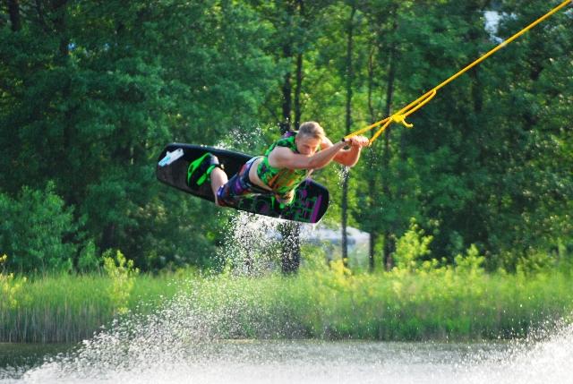 Vandelenčių sportą bus galima išmėginti prie Vilniaus Salotės ežero.