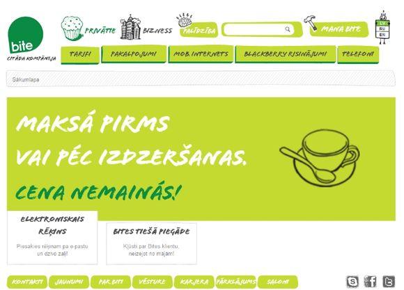 """Latviškas """"Bitės"""" tinklalapis"""