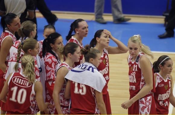 Rusijos krepšininkės.