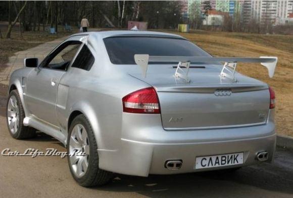 Gamintojo nuotr./Kreivų rankų darbo Audi Coupe