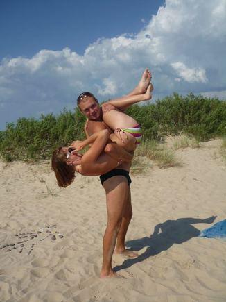 15min.lt skaitytojų nuotr./Bikini porelė: Olegas ir Irena