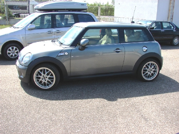 Italijoje pavogtas Mini Cooper automobilis