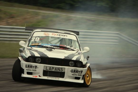 Andriaus Lauciaus nuotr./Gatis Lapans, Lak-y Racing Team