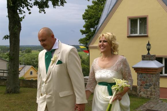 Laimos Tamulytės ir Gedimino Stončiaus vestuvių akimirka