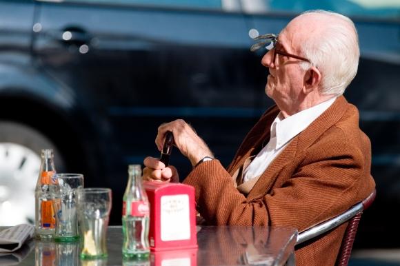 Senas žmogus
