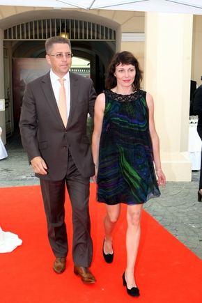 Juliaus Kalinsko/15min.lt nuotr./Andrius Janukonis su žmona Živile