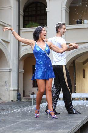 """BFL/Mindaugo Vaičiulio nuotr./Irena Starošaitė projekto """"Kviečiu šokti"""" pristatymo vakarėlyje."""