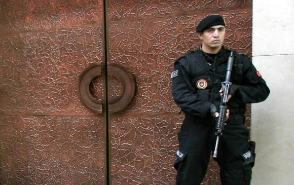 Turkijos policininkas