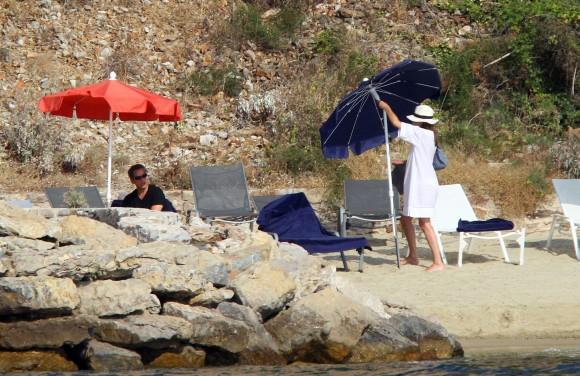 Nicolas Sarkozy ir Carla Bruni atostogauja.