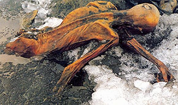 Ecio mumija Austrijos Alpėse buvo aptikta 1991-ųjų rugsėjį.