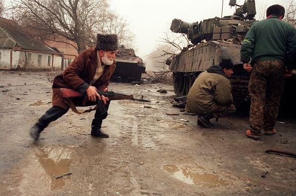 AFP/Scanpix nuotr./Alfa būrys dalyvavo ne vienoje operacijoje Čečėnijoje