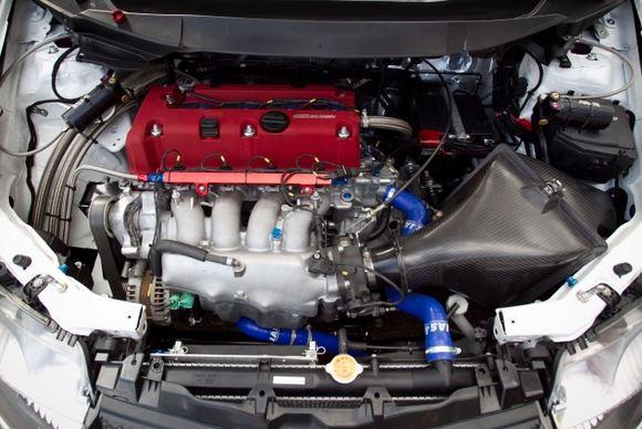 Komandos nuotr./Martyno Samuičio ir Arūno Gransko Honda Civic Type R