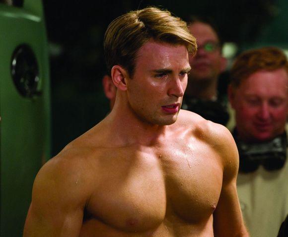 """Kadras iš filmo/Chrisas Evansas filme """"Kapitonas Amerika: pirmasis keršytojas"""""""