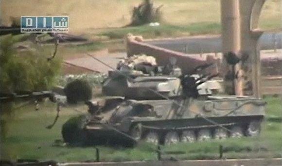Reuters/Scanpix nuotr./Protestų malainimas Sirijoje
