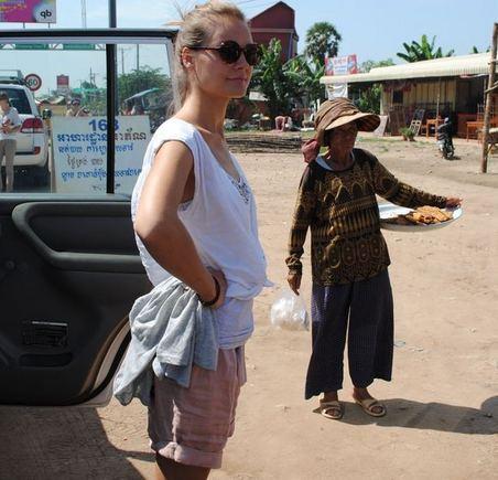 """Projekto """"Už kiekvieną vaiką"""" nuotr./Jurgita Jurkutė Kambodžoje"""