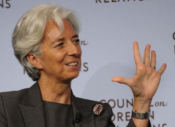 TVF vadovė Christine Lagarde