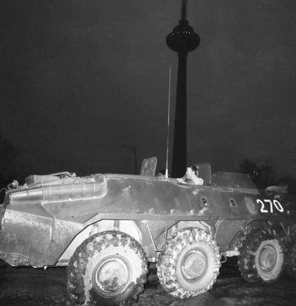 BFL nuotr./Okupacinės sovietų armijos aarvuotis