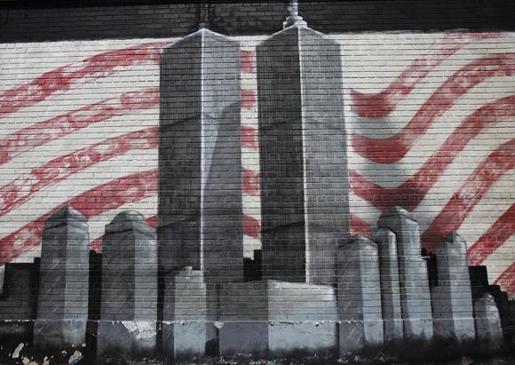 Freska 2001 metų rugsėjo 11 dienos aukoms atminti