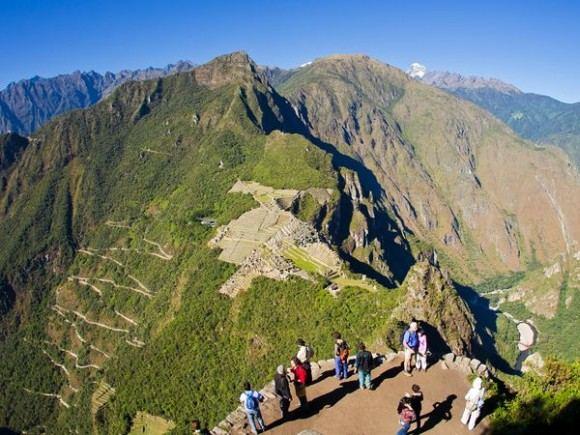 incatrail-peru.com nuotr./Nuo Huajnos Pikču viraūnės atsiveriantys vaizdai