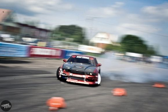 Tomo Petrovskio/Tomasfoto.lt nuotr./Ramūnas Brūzga, Nissan Silvia S13