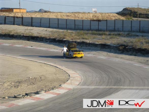 """""""Driftingo"""" varžybos Ispanijoje"""