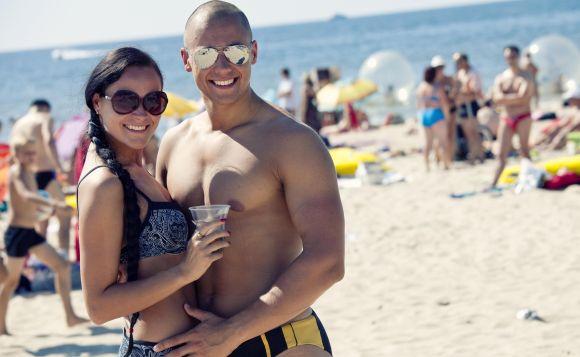 Dalia ir Andrius, bikini porelė