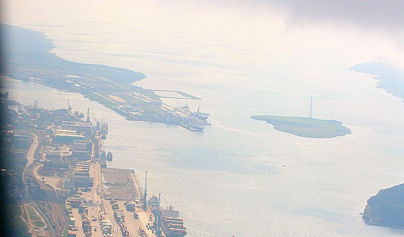 Aurelijos Kripaitės/15min.lt nuotr. /Suskystintų gamtinių dujų terminalas turėtų atsirasti prie Kiaulės nugaros - salos uosto akvatorijoje.