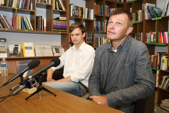 Darius Lukas Piraitis ir Gintaras Varnas