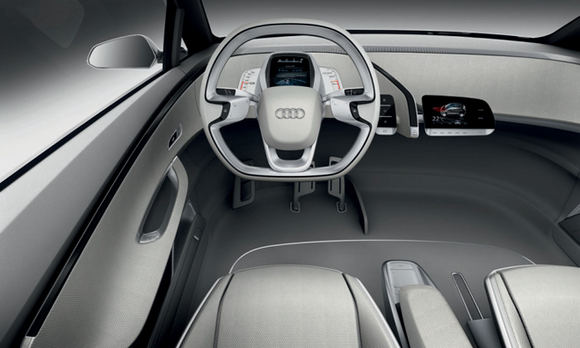 Gamintojo nuotr./Audi A2 Concept