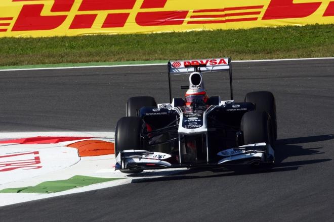 "Rubensas Barrichello, ""Williams"""