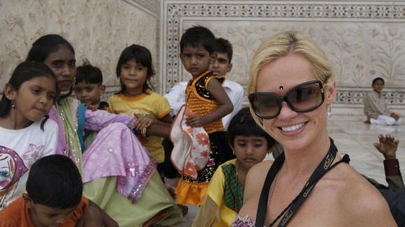 Asmeninio archyvo nuotr./Ingrida Martinkėnaitė Indijoje