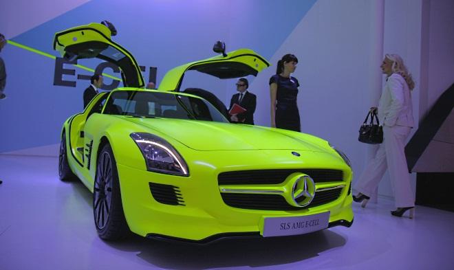 """Mercedes-Benz SLS AMG E-Cell"""
