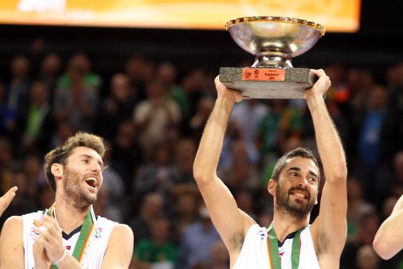2011-aisiais Europos krepšinio čempionato taurė atiteko Ispanijos krepšininkams