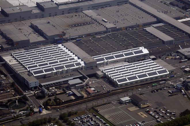 Gamintojo nuotr./Toyota gamykla